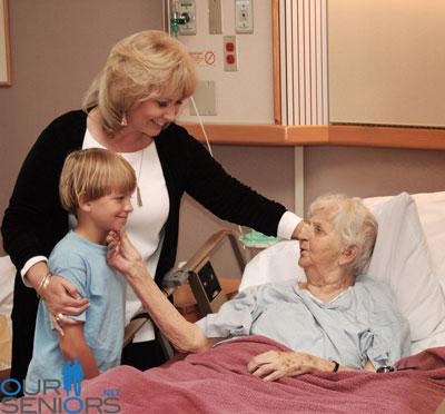 visit a senior